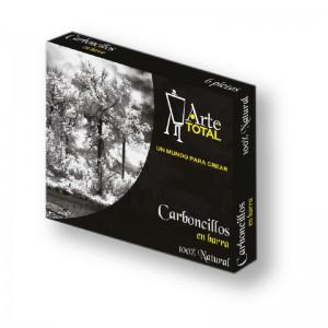 caja con carboncillos en barra A 15076-1-2-3